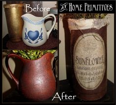 Refurbished items for a wonderful prim look by At Home Primitives