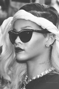 Rock the  embellished  Prada  shades like  Rhianna by picking up a pair d348bec880