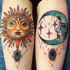 desenhos sol e lua tumblr - Pesquisa Google