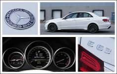 2014 Mercedes-Benz E 63 AMG Review │ While it's not a shortened version of a string of swear words it is a dirty, dirty combination that means a whole lot of power and fun behind the wheel of what would normally be a rather normal MercedesBenz. #Mercedes  #Eclass