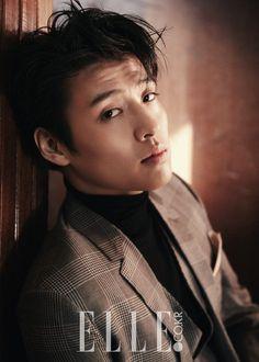 "stylekorea: ""Kang Ha Neul & Park Jung Min for Elle Korea February Photographed by Kim S. Asian Actors, Korean Actors, Kang Haneul, Hong Ki, Song Joong, Hot Korean Guys, Park Seo Joon, Park Hyung, Park Bo Gum"