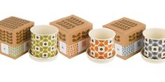 Orla Kiely created a range of garden products with some lovely packaging for Wild & Wolfe a designer, manufacturer and wholesaler of gifts, housewares and accessories in the UK.