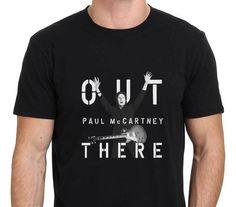 Cotton Cool Design 3D Tee Shirts Gildan Premium Crew Neck Short Sleeve Paul Mccartney Out There Mens Tee Shirts #Affiliate