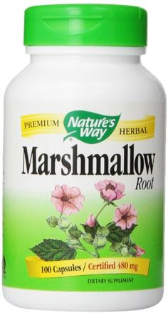 Nature's Way Marshmallow Root (Cog), 480 Mg 100 Capsules Natural Health Remedies, Herbal Remedies, Marshmallow Root Benefits, Health Diet, Health And Wellness, Health Foods, Interstitial Cystitis Diet, Bladder Prolapse, Ic Diet