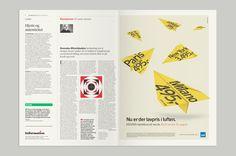 Lovely magazine layout