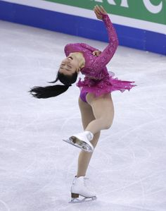 Mao Asada, of Japan, competes during the women's short program in the World Figure Skating Championships, Wednesday, March 31, 2016, in Boston. (AP Photo/Elise Amendola) (962×1221)