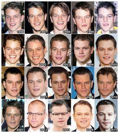 The Evolution of: Matt Damon