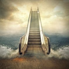 escalator, an art print by Even Liu Background Wallpaper For Photoshop, Blur Photo Background, Light Background Images, Editing Background, Picsart Background, Surrealism Photography, Abstract Photography, Creative Photography, Nature Photography