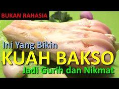 CARA BIKIN KALDU KUAH BAKSO YANG GURIH - YouTube Eat Me Drink Me, Food And Drink, Herbal Cure, Food Platters, Indonesian Food, Allrecipes, Catering, Crockpot, Seafood