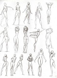 Figure Drawing Poses Poses Mujer by CeciiLottersberger on DeviantArt - Drawing Body Poses, Body Reference Drawing, Human Anatomy Drawing, Human Figure Drawing, Figure Sketching, Gesture Drawing, Art Reference Poses, Human Figure Sketches, Figure Drawing Tutorial