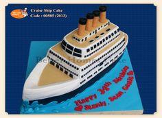 Aircraft / Watercraft - Cruise Ship Cake (www.betterhomes-cake.com)
