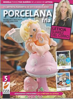 Cold Porcelain Magazine 5 2013 by Leticia Suarez del by AmGiftShoP, $12.99