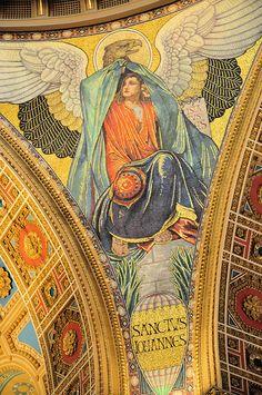 Saint John Mosaic in St. Matthew's Cathedral