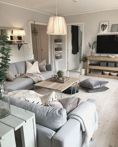 Top 30 Best Rustic Living Room Ideas – Rustic News Top 30 Best Rustic Living Room Ideas – Rustic News – housedecor Living Room Decor Cozy, Living Room Grey, Living Room Interior, Home Living Room, Apartment Living, Living Room Designs, Ikea Interior, Cozy Bedroom, Cozy Living