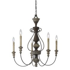 Found it at Wayfair - Williams 5 Light Candle Chandelier