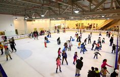 The only Ice Skating Rink in #Sharjah.
