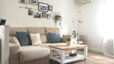 Una mesa y una mesita con palets espectaculares – I Love Palets Recycled Furniture, Couch, Wood, Rey, Decor Ideas, Home Decor, Furniture Collection, Outside Furniture, Home Decorations