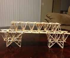 Toothpick Bridge Project