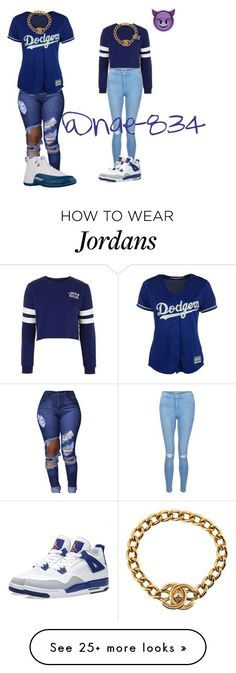 """me and lil sis outfits"" by nae-834 on Polyvore featuring Majestic, Topshop, New Look, NIKE, Chanel and naegang"