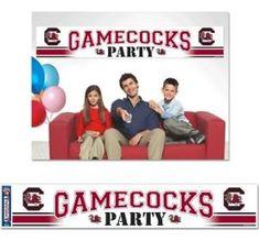 South Carolina Gamecocks Party Banner