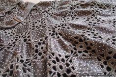 Háčkované šaty schéma 1