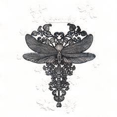 Frissonnante libellule