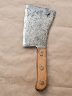 Lady's Meat Cleaver (Circa Early 1900s).