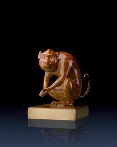 Brass Master Home decor sculpture - Metal crafts ornaments statue - Happy Monkey 3020010 Special Price: $299.00 Links: http://www.amazon.com/gp/product/B00KJJHA64