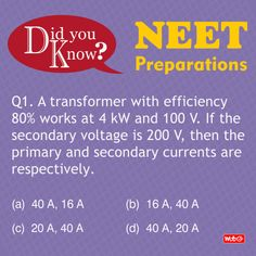 Do you know? #PhysicsProblems #NEET2018 #Physics #Questions #NEETpreparation #MTGBooks #PCMBToday Mtg Books, Physics Questions, Physics Problems, Science News, Short Cuts, Did You Know, It Works, This Or That Questions, Short Hairstyle
