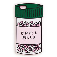 from bosses to exes, sometimes you gotta get off instagram and get on a tough call. our chill pills iphone case will make it super easy for you, promise. made out of the softest silicone ever, this th