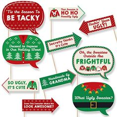Check out these 10 Tips for Throwing an Ugly Christmas Sweater Party this year!