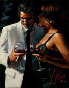 Fabian Perez The ambiguity of a whisper