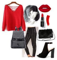 """""""Affordable standout winter"""" by molly-elliott-i on Polyvore featuring Bamboo, Torrid, Chico's and Lime Crime"""
