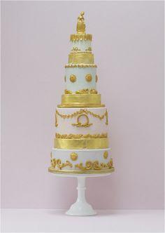 Bellísimas tartas de boda con un estilo muy romántico.