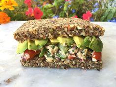 Raw Zucchini Bread - sandwich