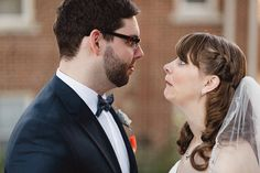 Bride-and-Groom-Funny-Face
