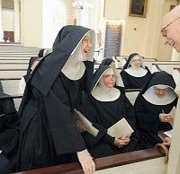All Saints Sisters of the Poor  -  Originally founded withing the Anglican Church, this religious order converted as a group to Roman Catholicism.