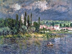 Landscape with a Thunderstorm - Claude Monet