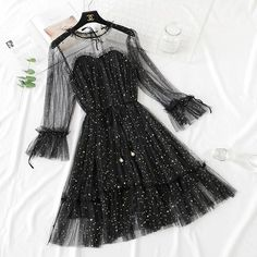 5 Colors Fairy Paillette Lace Tulle Dress – 2020 Fashions Womens and Man's Trends 2020 Jewelry trends
