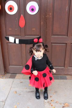 DIY ladybird/ ladybug costume