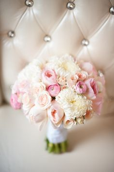 Pink and Yellow Bouquet | photography by http://www.bluerosepictures.com