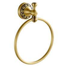 El material de latón en color bronce <strong> Baño </ strong> anillo…