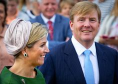 Queen Máxima, September 14, 2014 in Fabienne Delvigne | Royal Hats...Posted on September 15, 2014 by HatQueen....King Willem-Alexander and Queen Máxima attended Sunday Service at the Fontein Church in Nijkerk, The Netherlands, yesterday to celebrate the tenth anniversary of the Protestant Church.