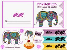 Bollywood: Free Printables. Check out the whole set!