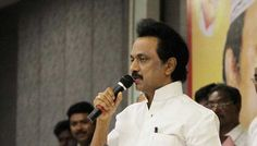 DMK leader and Tamil Nadu Opposition Leader M K Stalin tonight wished for the speedy recovery of hospitalised Chief Minister J Jayalalithaa