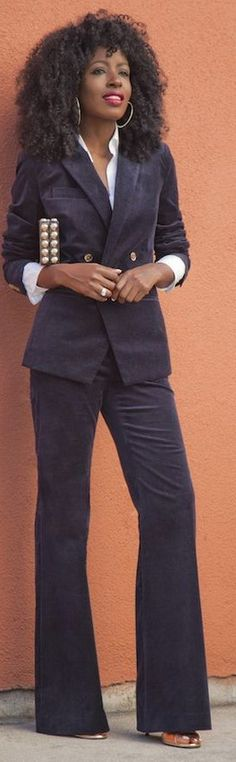 Swanky suit - picture Stylish Suit, Suits For Women, Pants, Fashion, Trouser Pants, Moda, Jumpsuits For Women, Fashion Styles, Women's Pants