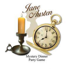 JANE AUSTEN Murder Mystery Party Game. by MurderMysteryGames, $16.95