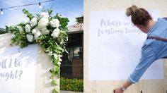 Kelly and Julian's wedding was located at Coriole Winery in South Australia. Wedding coordination, wedding styling, stationery and signage by emkho Wedding Coordinator, Event Styling, Signage, Wedding Styles, Concept, Lettering, Billboard, Drawing Letters, Signs