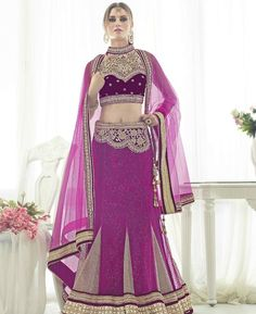Buy Exquisite Wine With Chiku Lehenga Choli online at  https://www.a1designerwear.com/exquisite-wine-with-chiku-lehenga-choli  Price: $112.68 USD