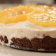 Chocolate Orange Cheesecake - The Happy Foodie